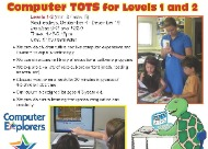 Computer Tots classes for young children