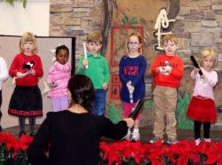 younger children special Chapel Christmas program