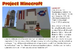 Project Minecraft Computer Explorers classes for kids
