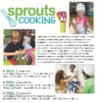 Sprouts Cooking classes for children