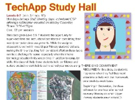 TechApp Study Hall classes for young children