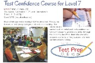 Test Confidence Course for fifth graders